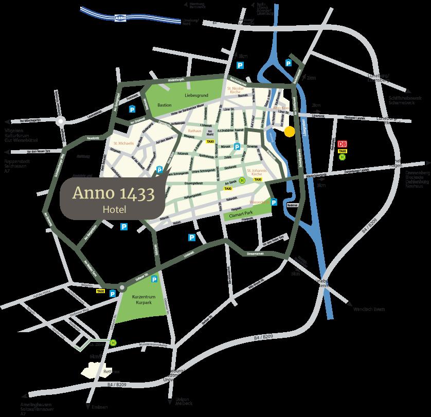 Lueneburgkarte Standort