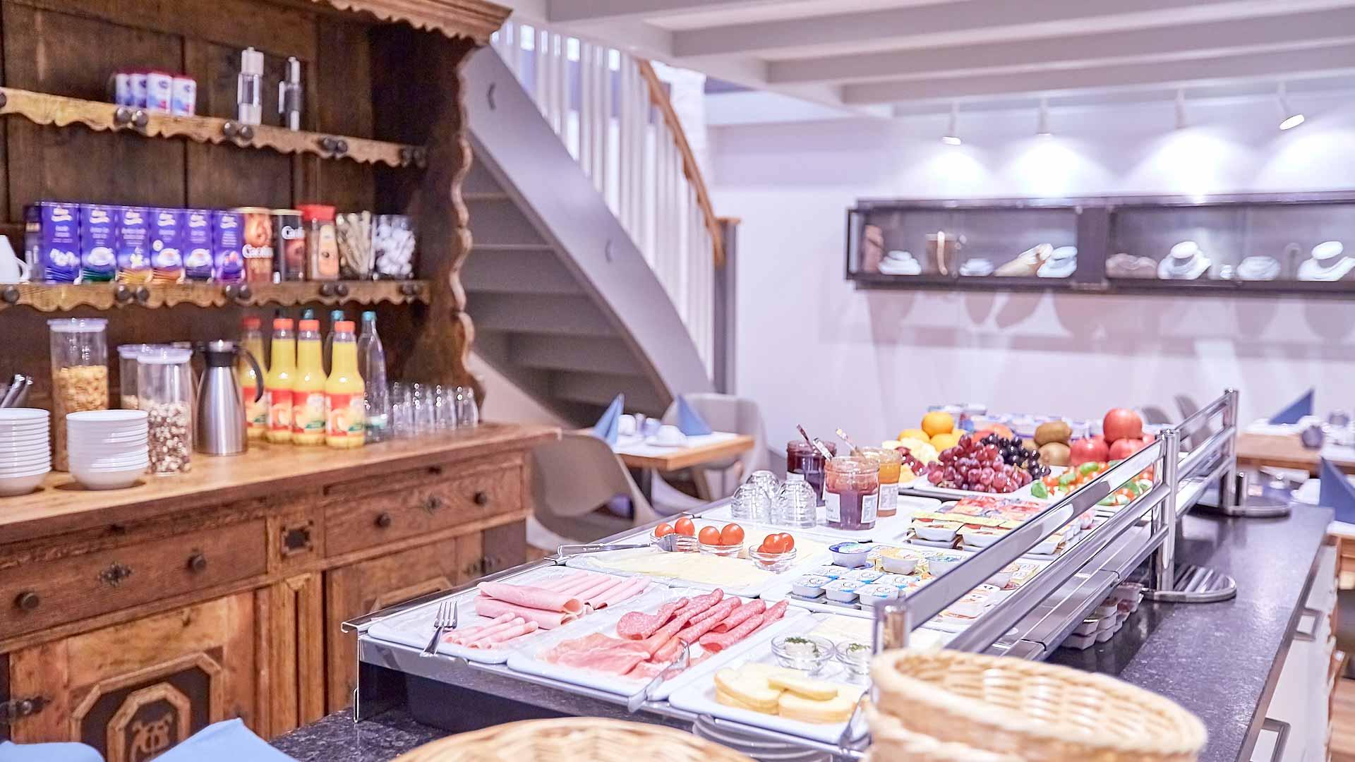Frühstück Buffet